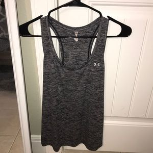 Under Armour Dark Gray Workout Top